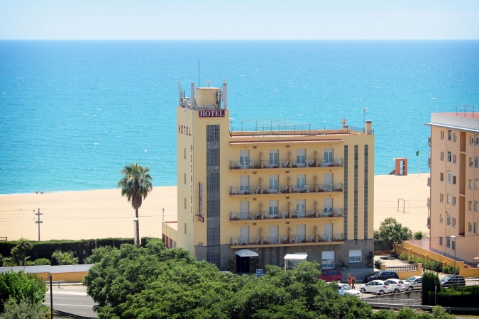 Hotel Rocatel, playa Canet de Mar (Barcelona)