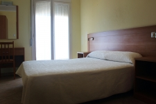 Habitación doble del Hotel Rocatel (Canet de Mar)