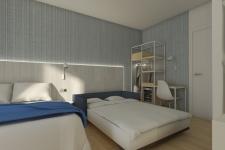 hotel playa canet de mar habitacion