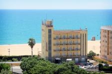 Hotel Rocatel, playa Canet de Mar (Barcelona)